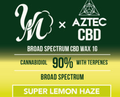 SUPER LEMON HAZE CBDワックス